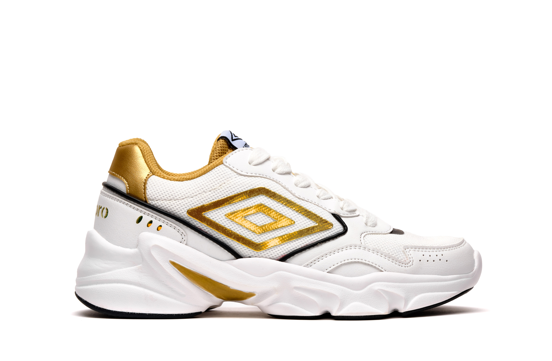 Sneakers Umbro Donna HI-BOUNCE - White/Gold/Black