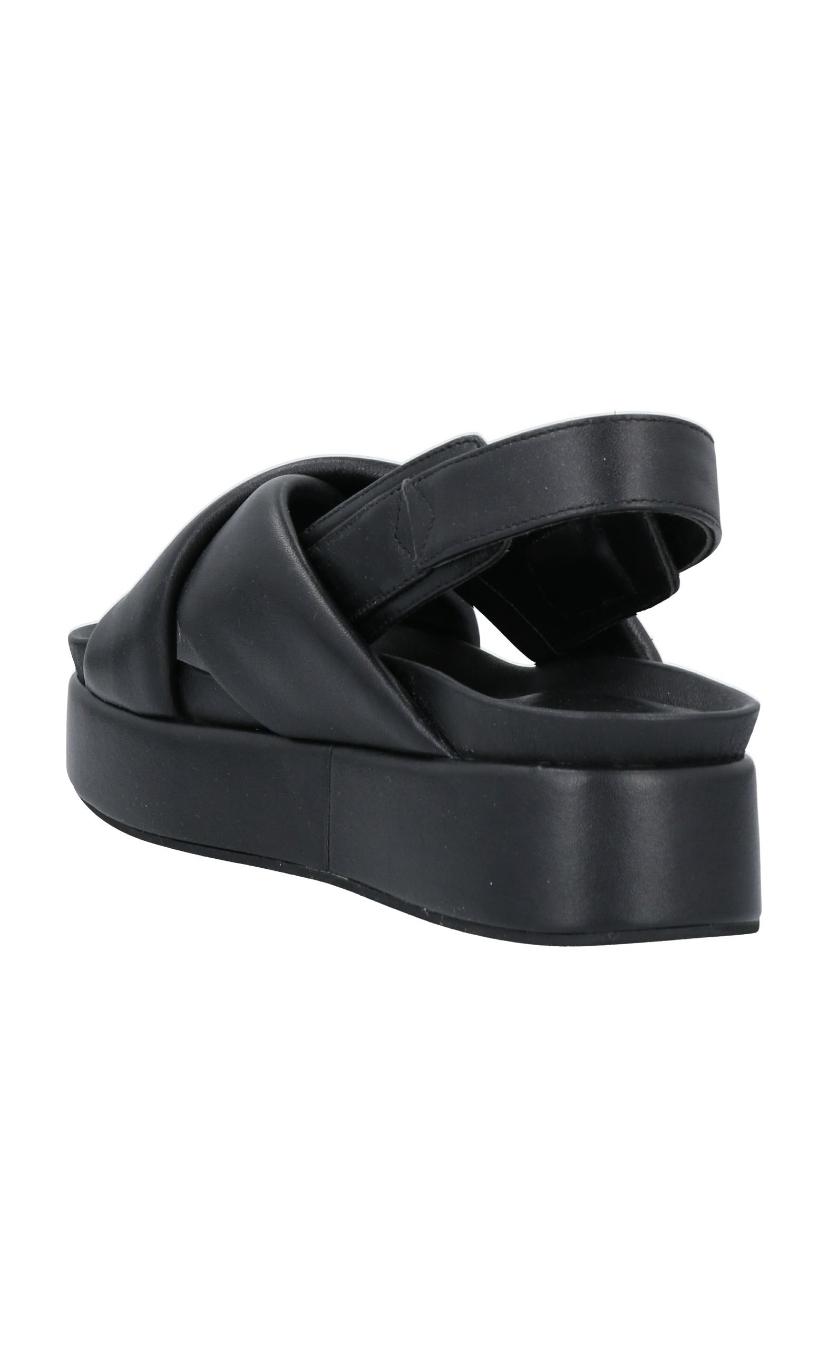 Sandalo GILDA nero - HABILLÈ