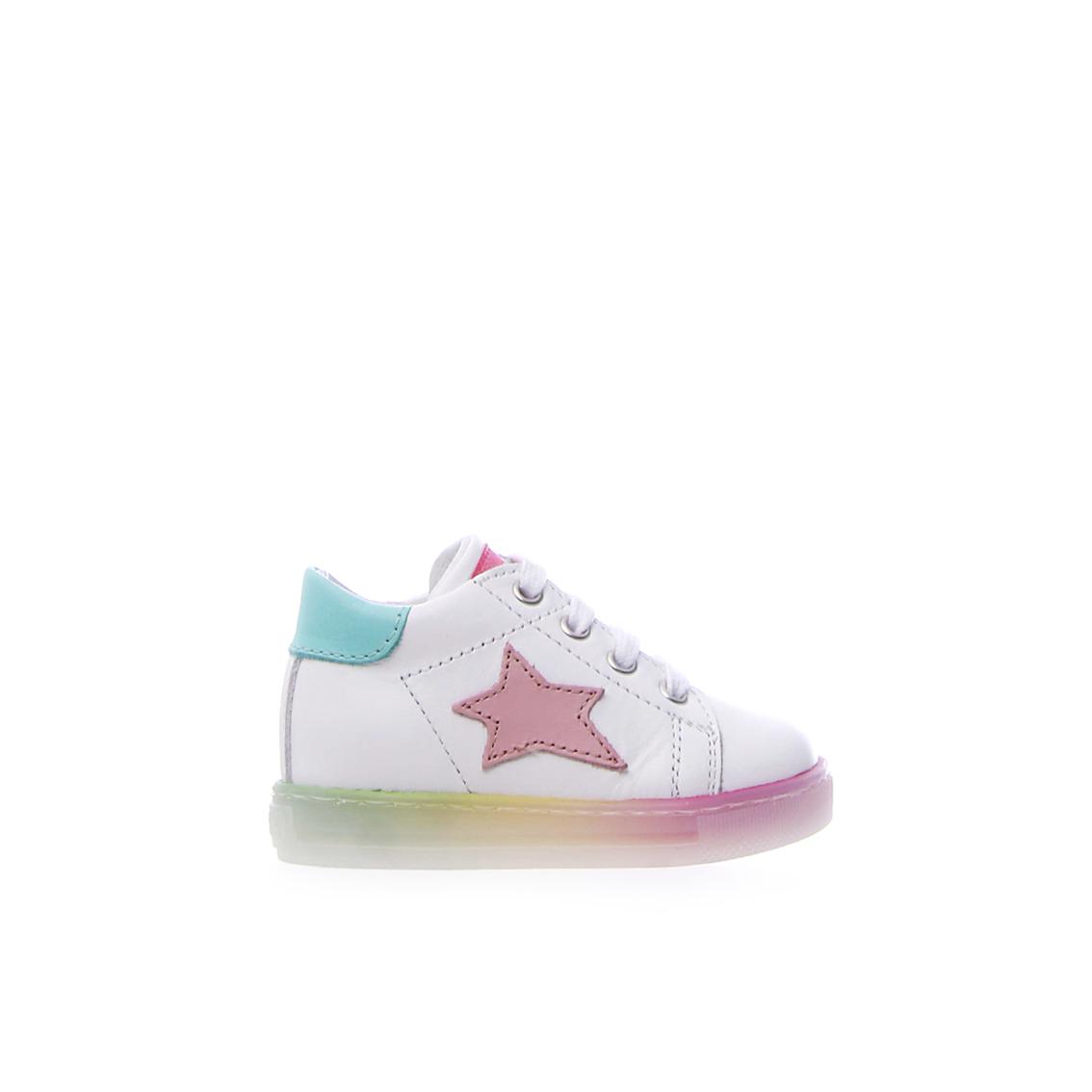 Sneaker bianca/multicolor Falcotto