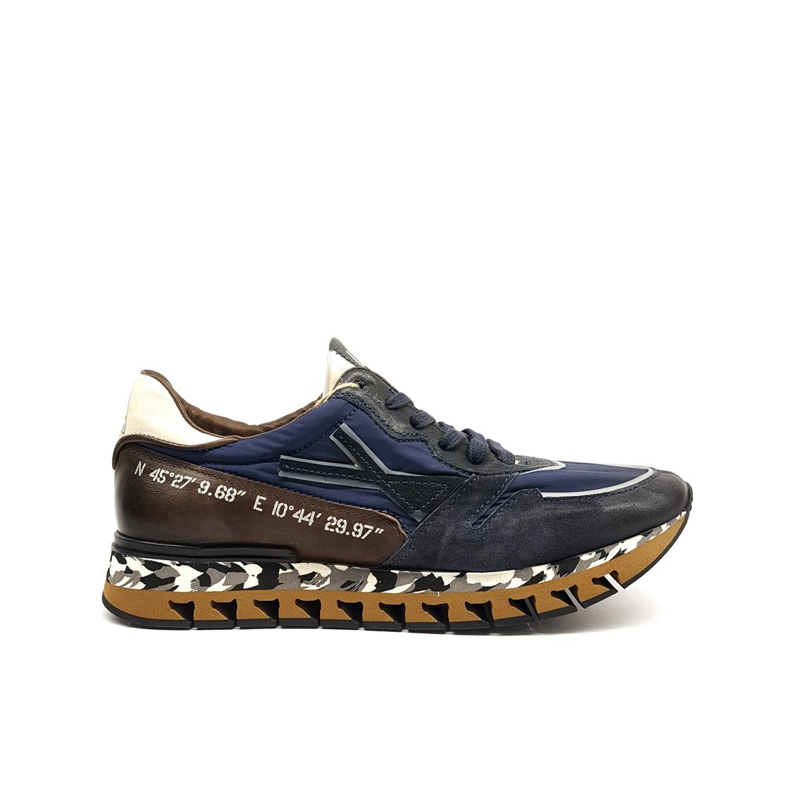 Sneaker blu/multicolor A.S.98