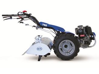 Motocoltivatore BCS 750 PowerSafe con fresa