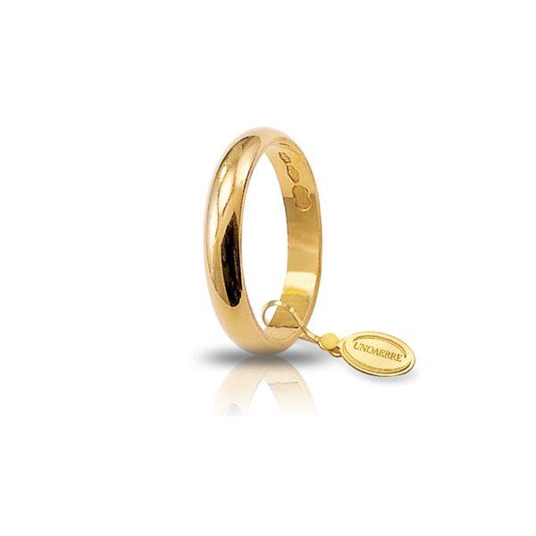Unoaerre-Fede classica gr.3 in oro giallo