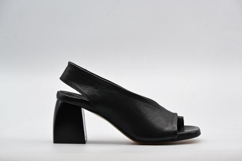 NOVITA' P/E 2021 THE S Calzatura Donna-Sandalo con Tacco SP62 Nero
