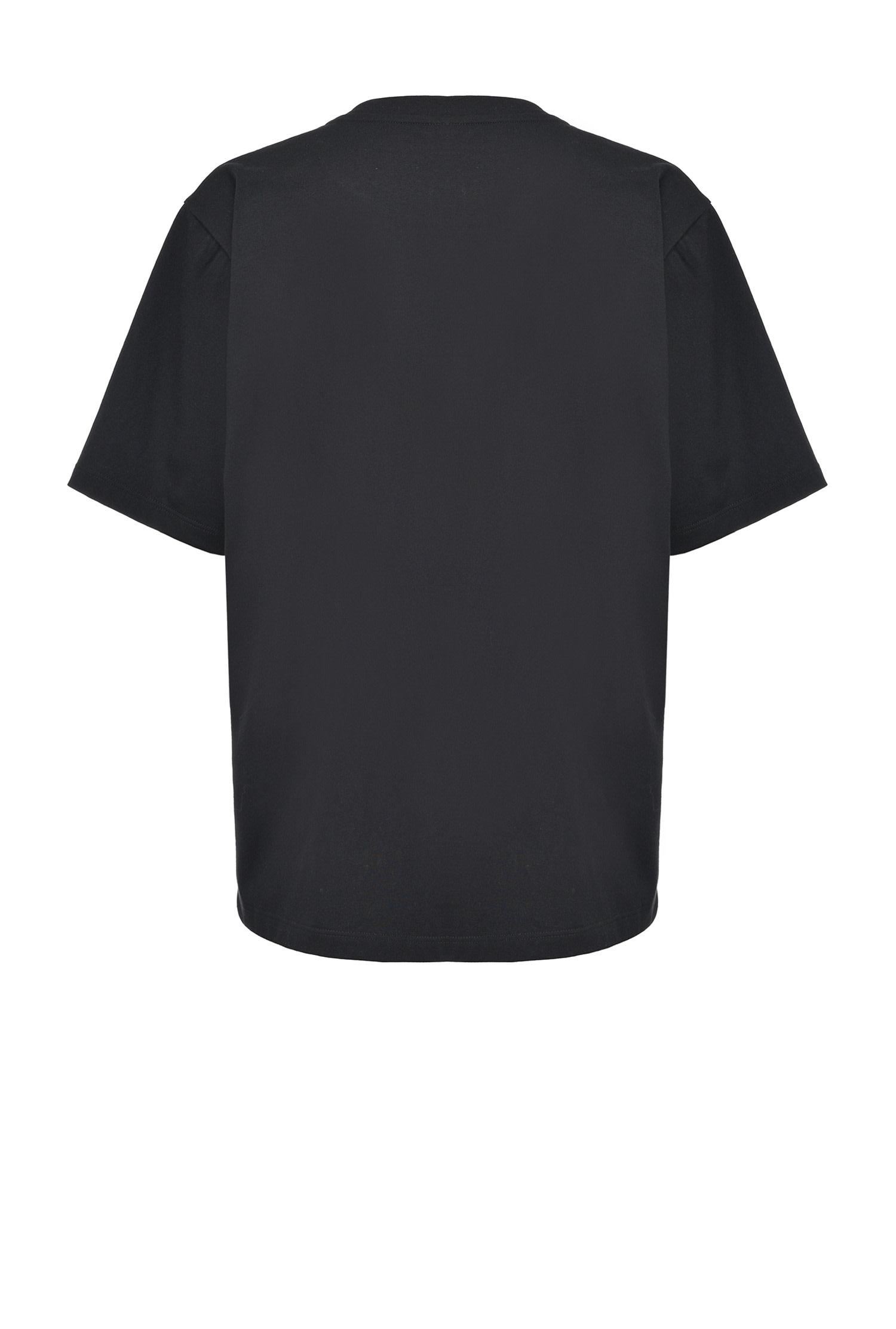T-shirt Svalutation maxi con numero Pinko