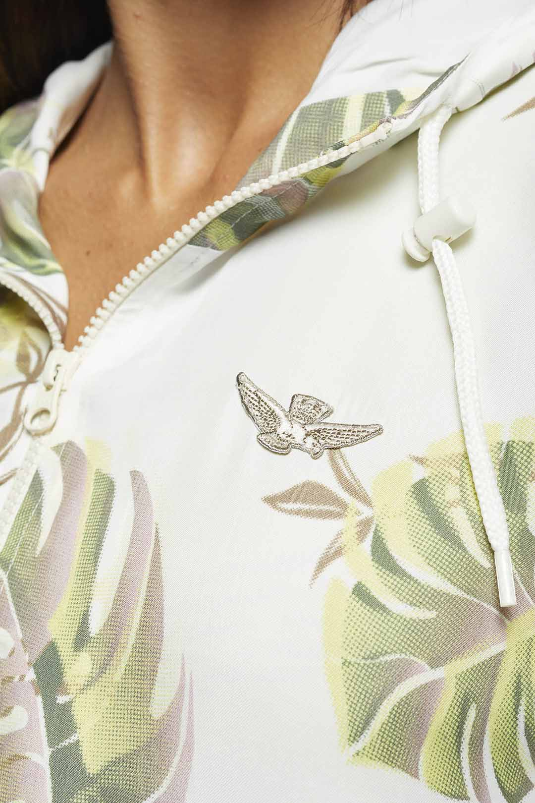 Tropical pattern Jacket                                5