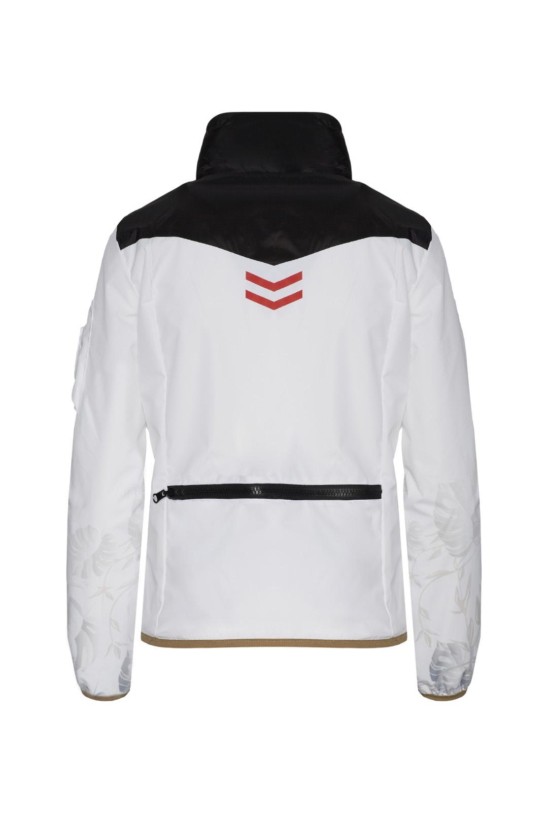 Tropical pattern Jacket                        2