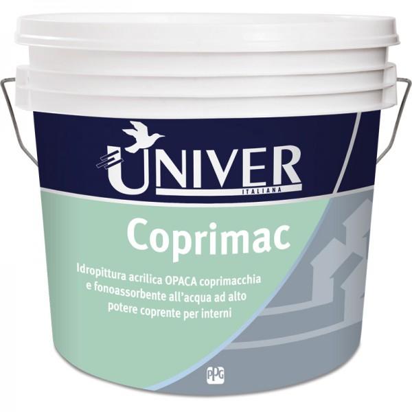 COPRIMAC PITTURA MURALE SUPERLAVABILE E SUPERCOPRENTE LT 5 PPG /UNIVER