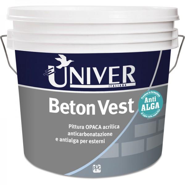 BETON VEST PITTURA ANTICARBONATAZIONE SPECIFICO PER CEMENTO ARMATO LT 14 COLORATO - PPG/UNIVER