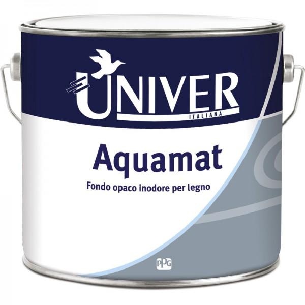 AQUAMAT FONDO ALL'ACQUA OPACO INODORE PER LEGNO LT 0.750 - UNIVER/PPG
