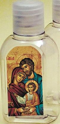 Bottiglietta palstica 50 ml. (100 pz) Sacra Famiglia