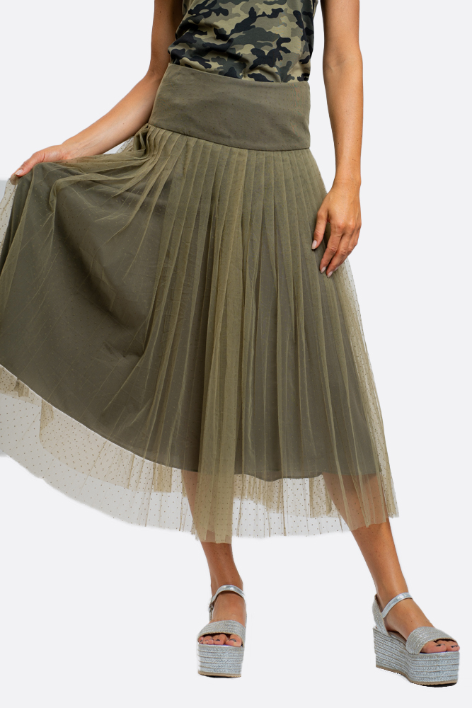 SHOPPING ON LINE NO SECERETS MILANO GONNA IN TULLE  NEW COLLECTION WOMEN'S SPRING SUMMER 2021
