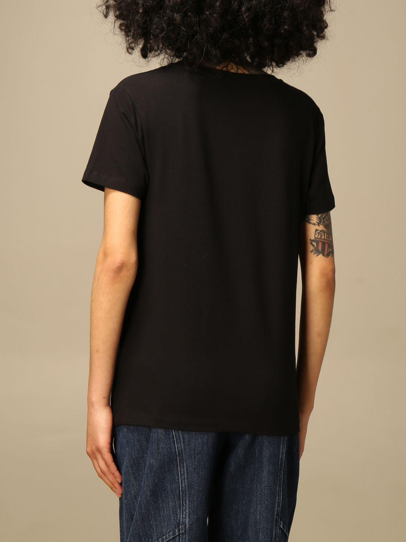 T-shirt nera moschino swim