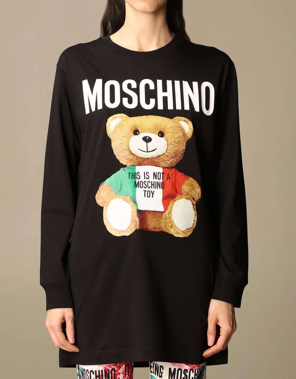 Abito nero Moschino couture