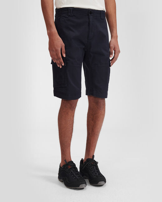 SHOPPING ON LINE C.P. COMPANY STRETCH SATEEN GARMENT DYEDCARGO SHORTS  NEW COLLECTION SPRING/SUMMER 2021