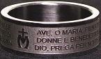 Anello preghiera Ave Maria