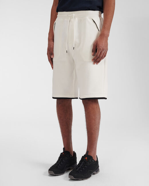 SHOPPING ON LINE C.P. COMPANY DIAGONAL RAISED FLEECE SHORTS NEW COLLECTION SPRING/SUMMER 2021