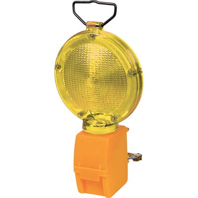 LAMPEGGIATORE CANTIERE LUCE LED GIALLO
