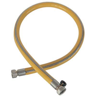 TUBO GAS FLESSIBILE FF INOX/PVC 1/2FF CM 150