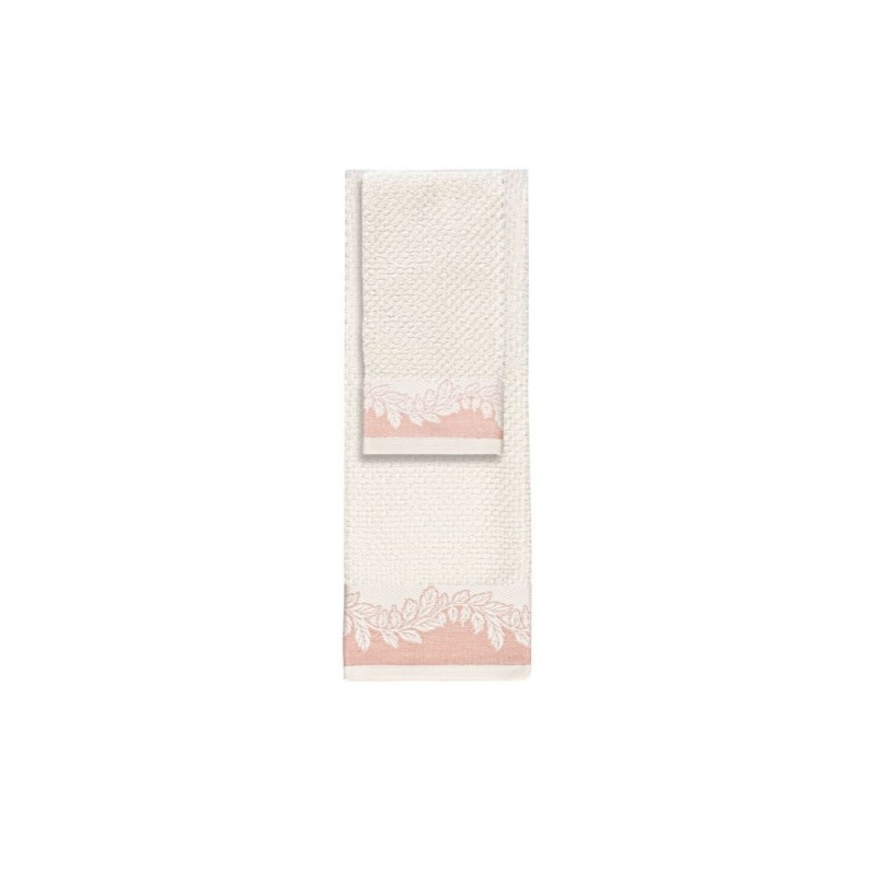 Asciugamani in cotone jacquard