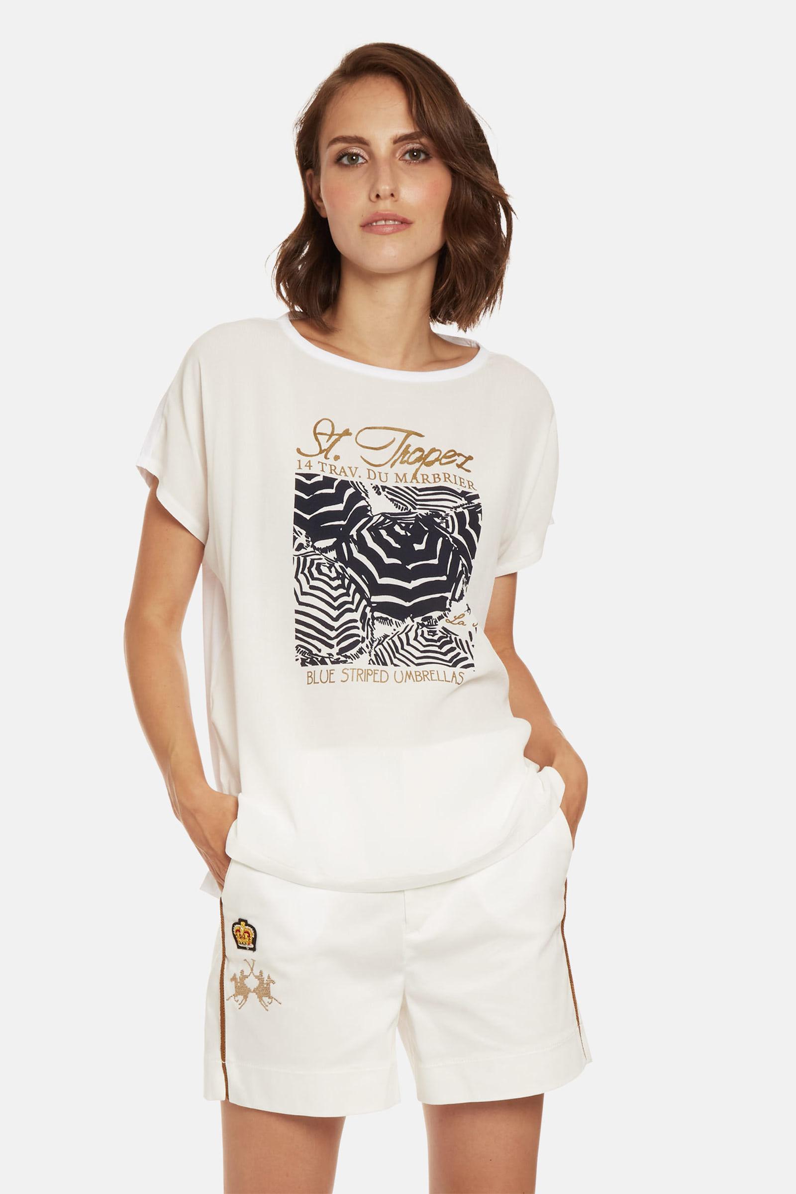 T-shirt donna LA MARTINA ART. RWR309
