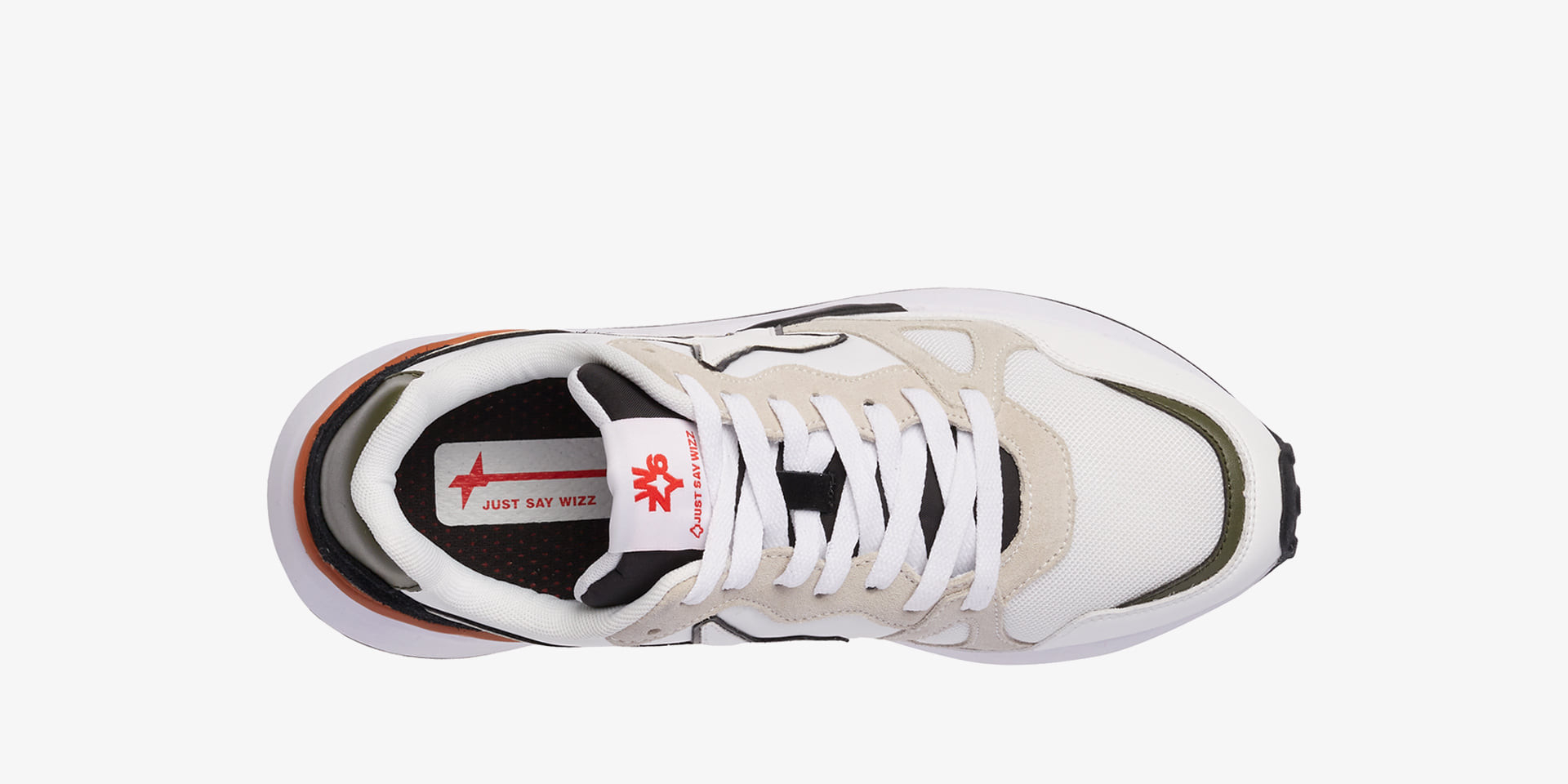 Sneaker uomo JUST SAY WIZZART.WOLF