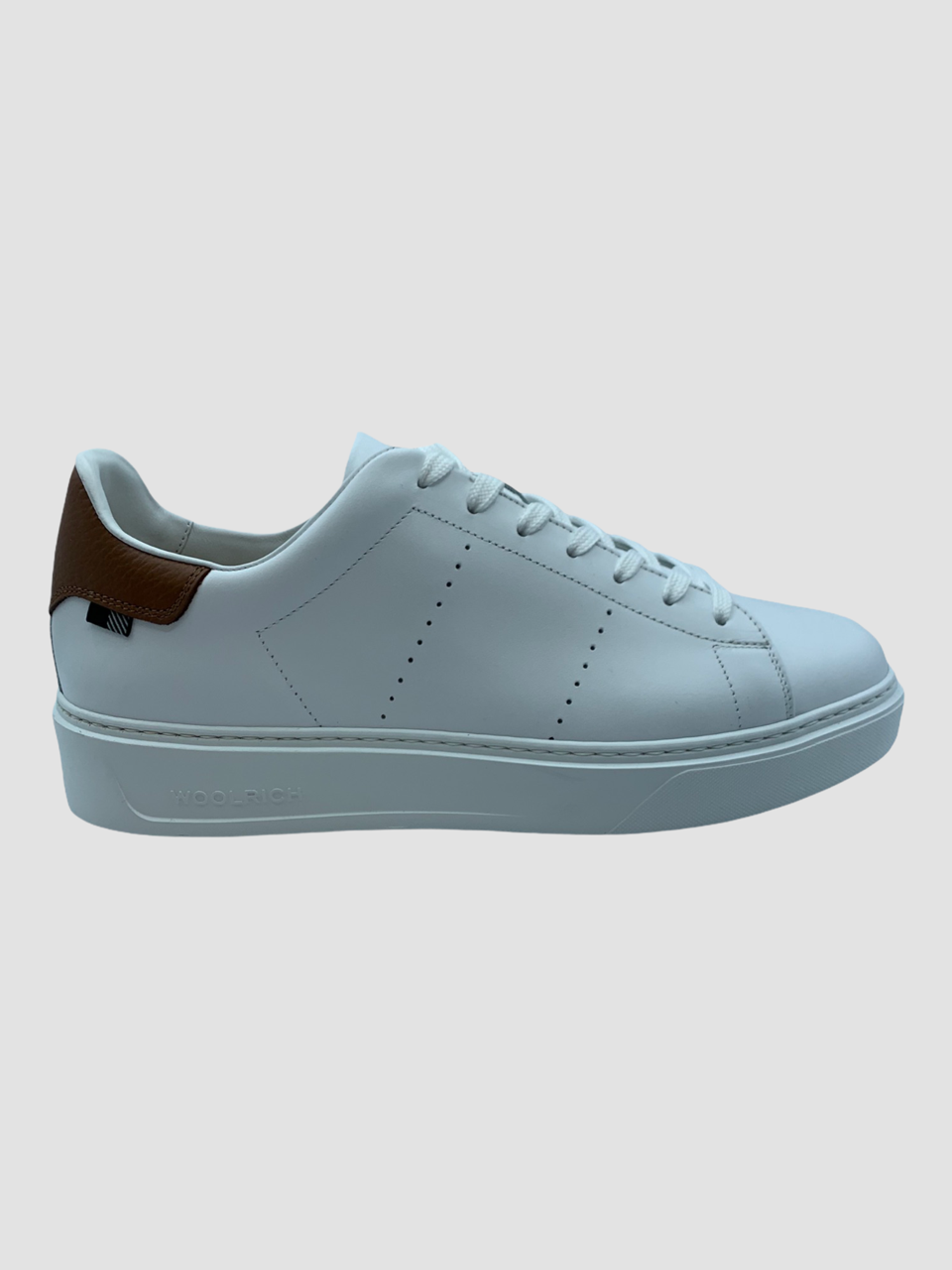SHOPPING ON LINE WOORLICH SNEAKERS CLASSIC COURT IN PELLE NEW COLLECTION SPRING/SUMMER 2021