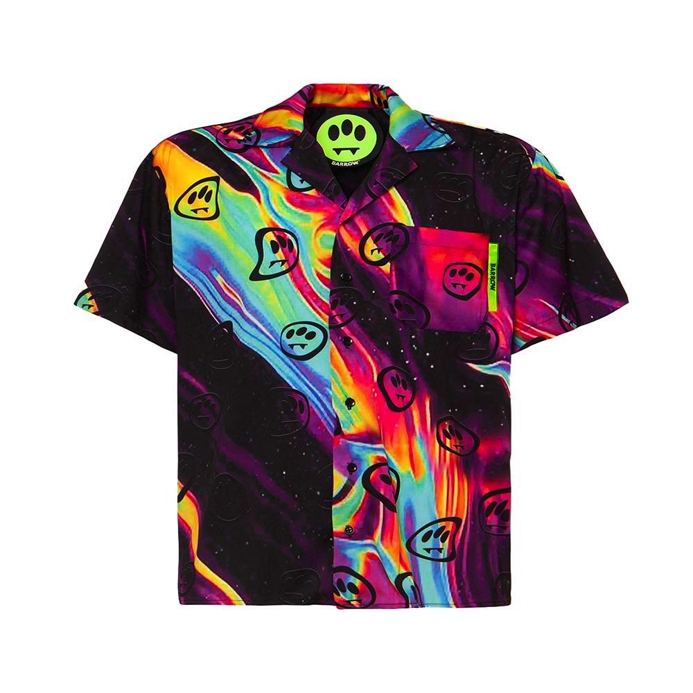 BARROW Short Shirt Psychdelic Smile