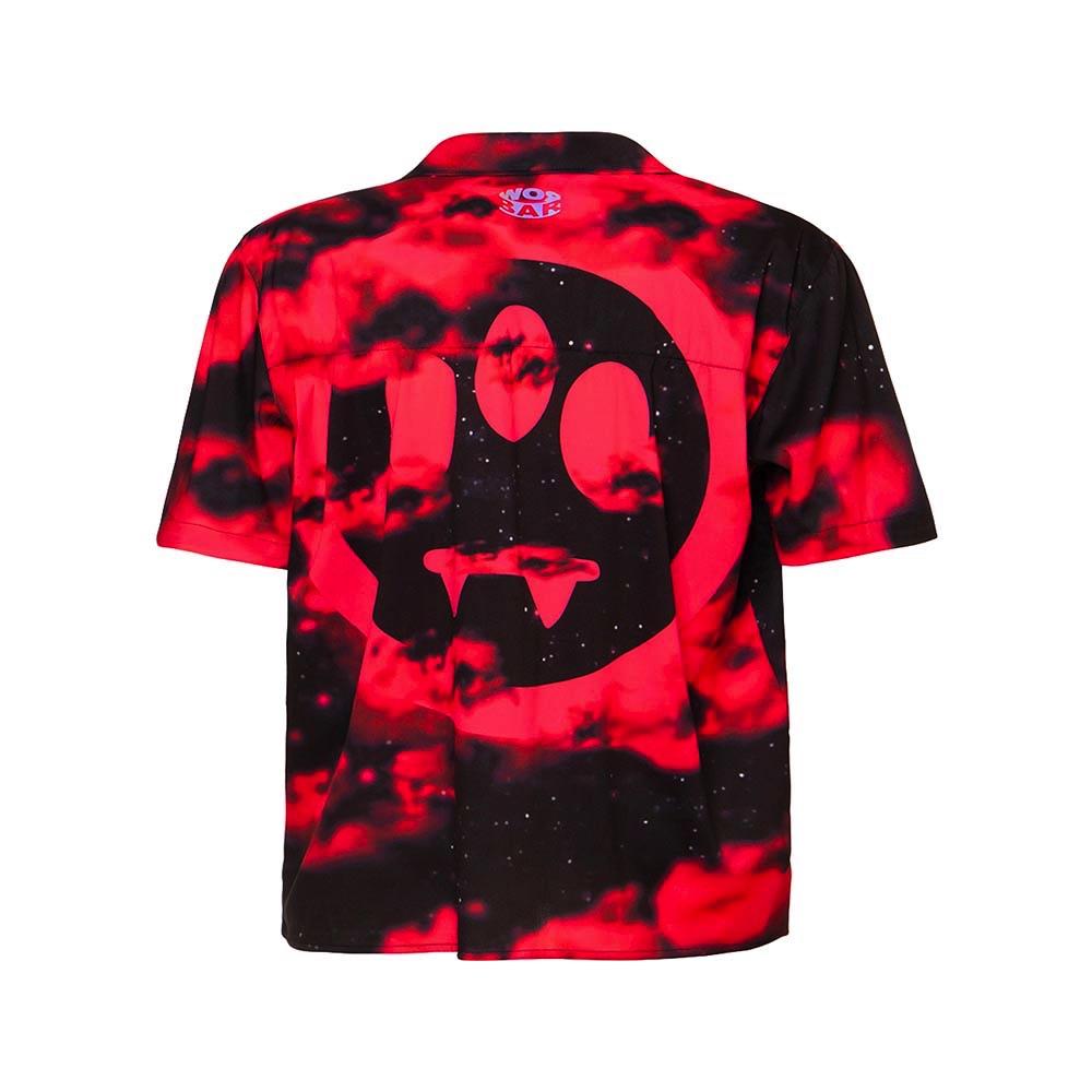BARROW Short Shirt Cloud Red
