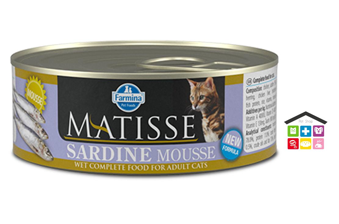Farmina MATISSE mousse sardine  0,85g - 0,300g