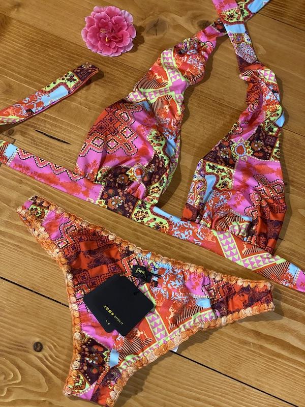 Bikini triangolo Marylin e slip fianco fisso Venture Effek Taglia M e LG