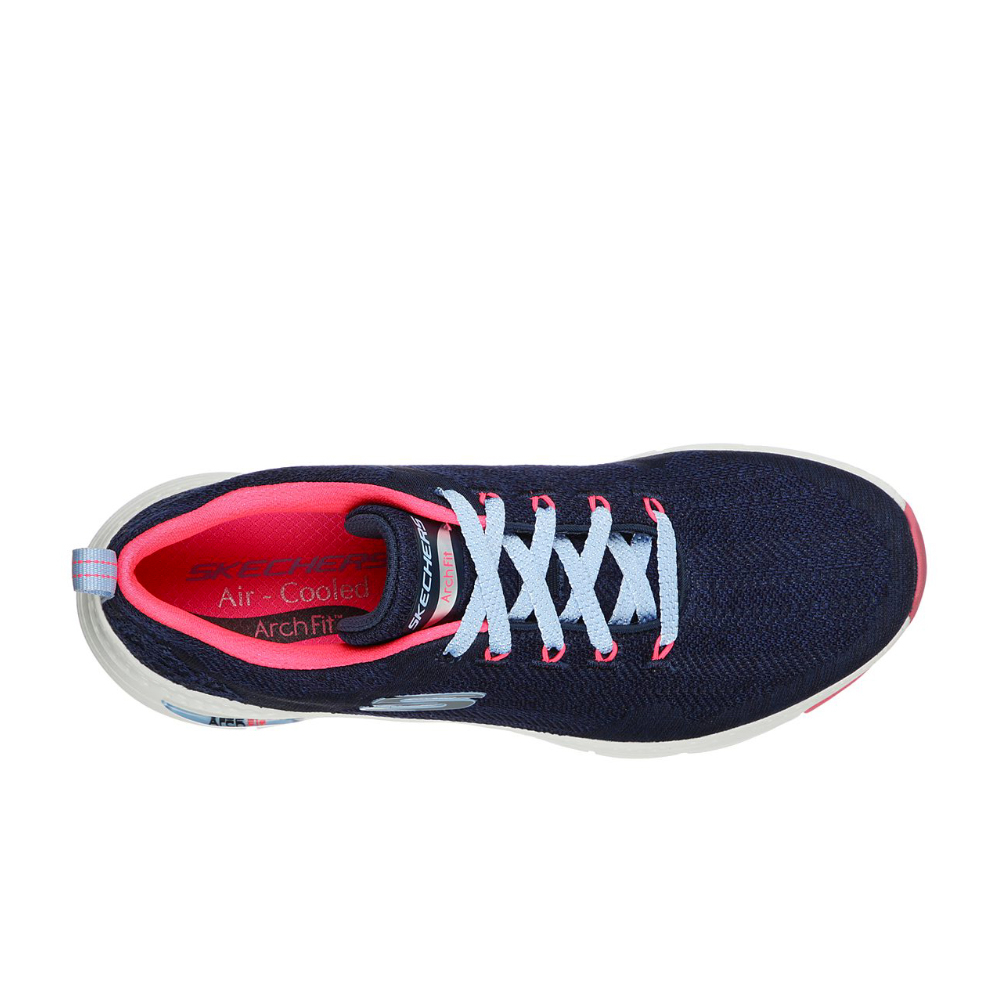 Sneakers Donna Skechers Arch - Fit Comfy Wave 149414 NVHP
