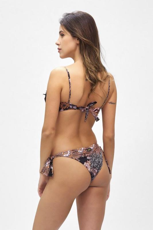 Bikini Top e slip brasiliano nodi regolabile Summer of Love Effek
