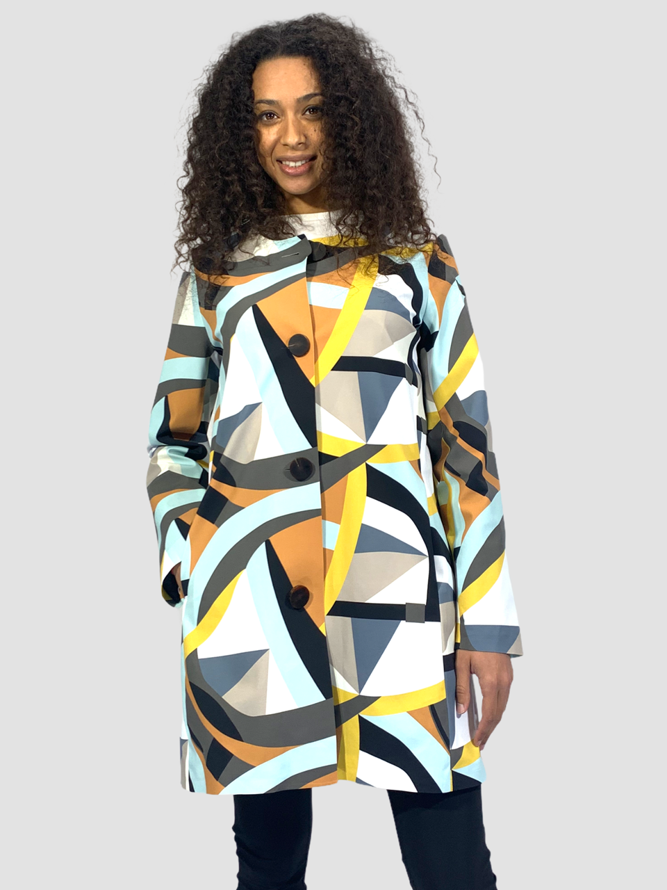 SHOPPING ON LINE RRD ROBERTO RICCI DESIGNS COAT RAINBOW LADY NEW  COLLECTION  WOMEN'S  SPRING  SUMMER 2021