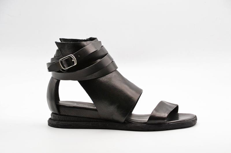 NOVITA' P/E 2021 Rebecca White Calzatura Donna-Savana Vacchetta Black T0308-V2