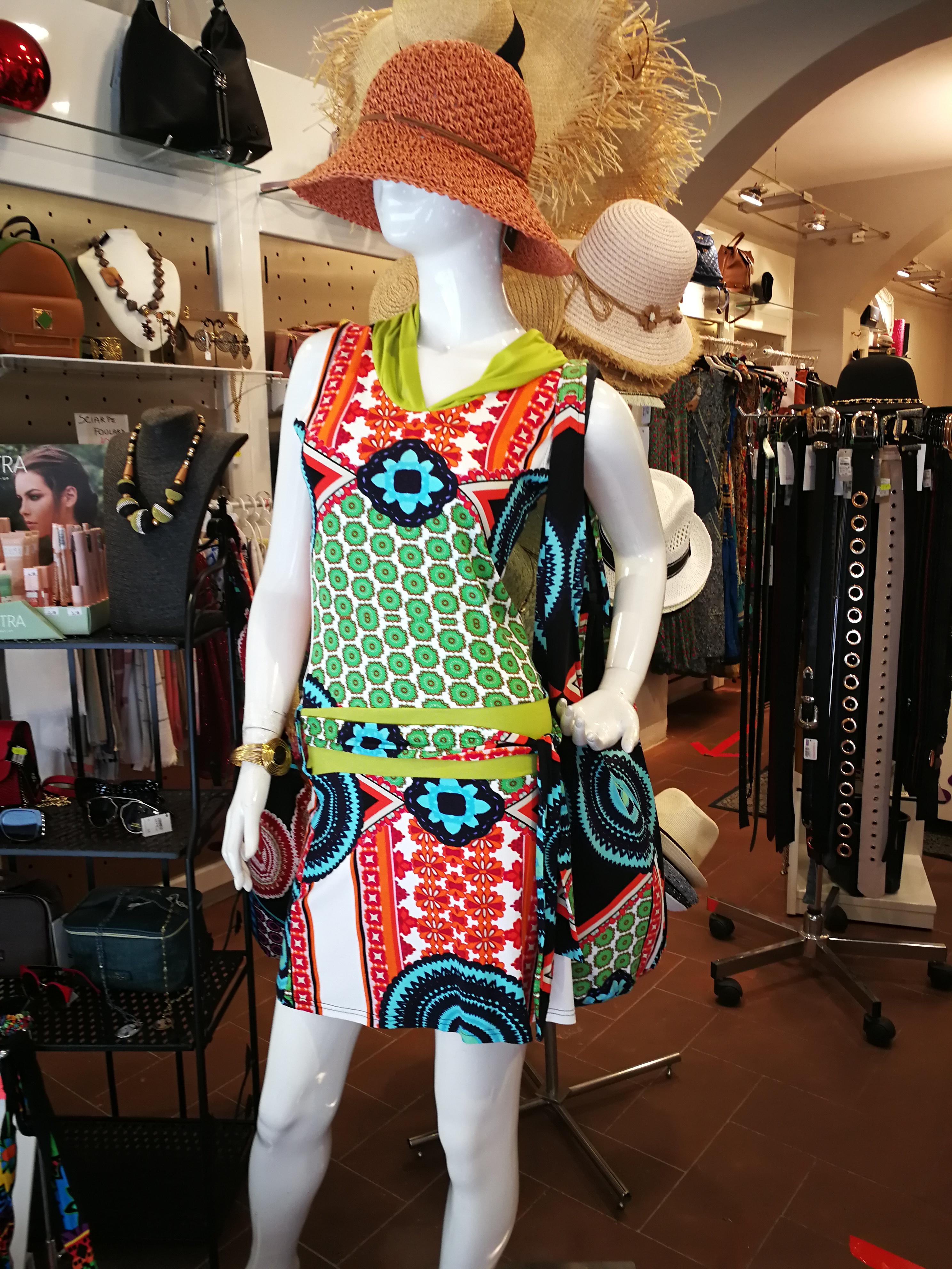 Ethnic short dress. Women's summer dresses online