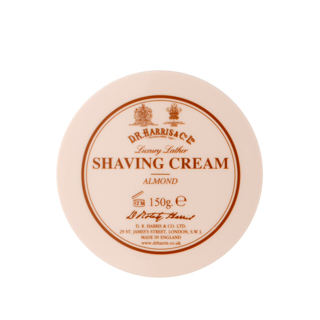 Almond - Shaving Cream Bowl