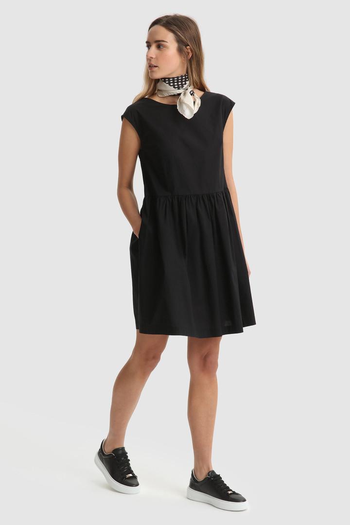 SHOPPING ON LINE  WOOLRICH POPELINE DRESS VESTITO IN COTONE CON MANICHE AD ALETTA NEW COLLECTION WOMEN'S SPRING SUMMER 2021