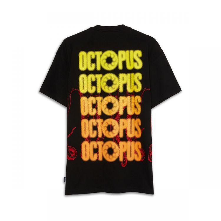 OCTOPUS Tee Blurred Black