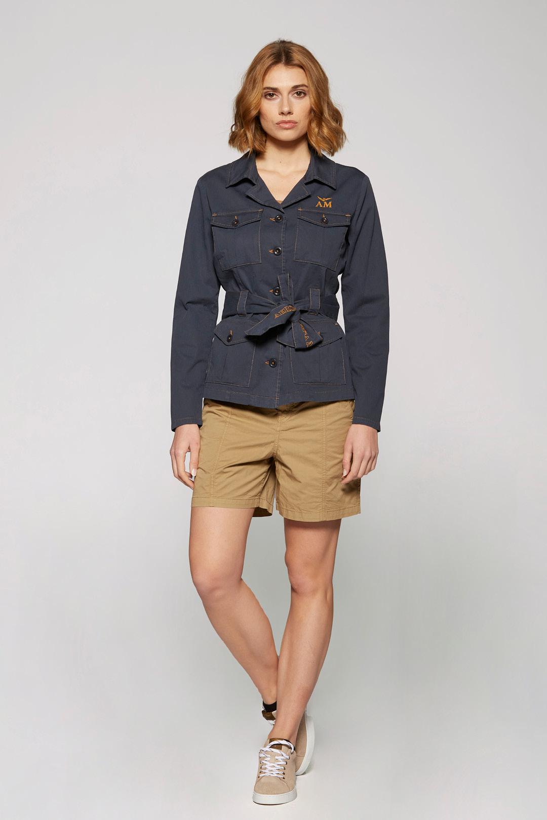 Stretch Cotton Saharan Jacket                  4