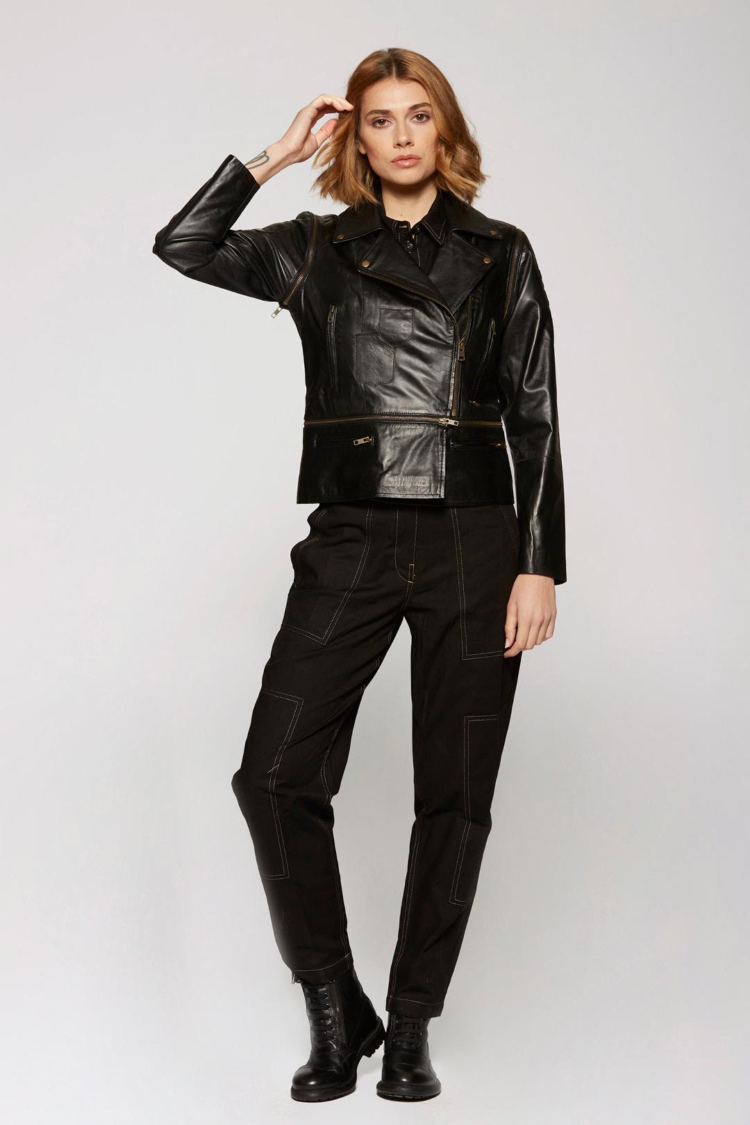 Soft Nappa leather jacket                  4