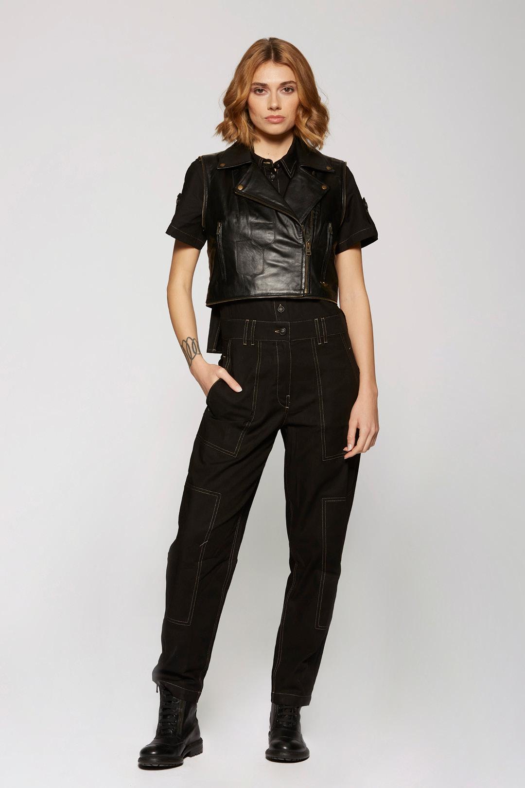 Soft Nappa leather jacket                  6