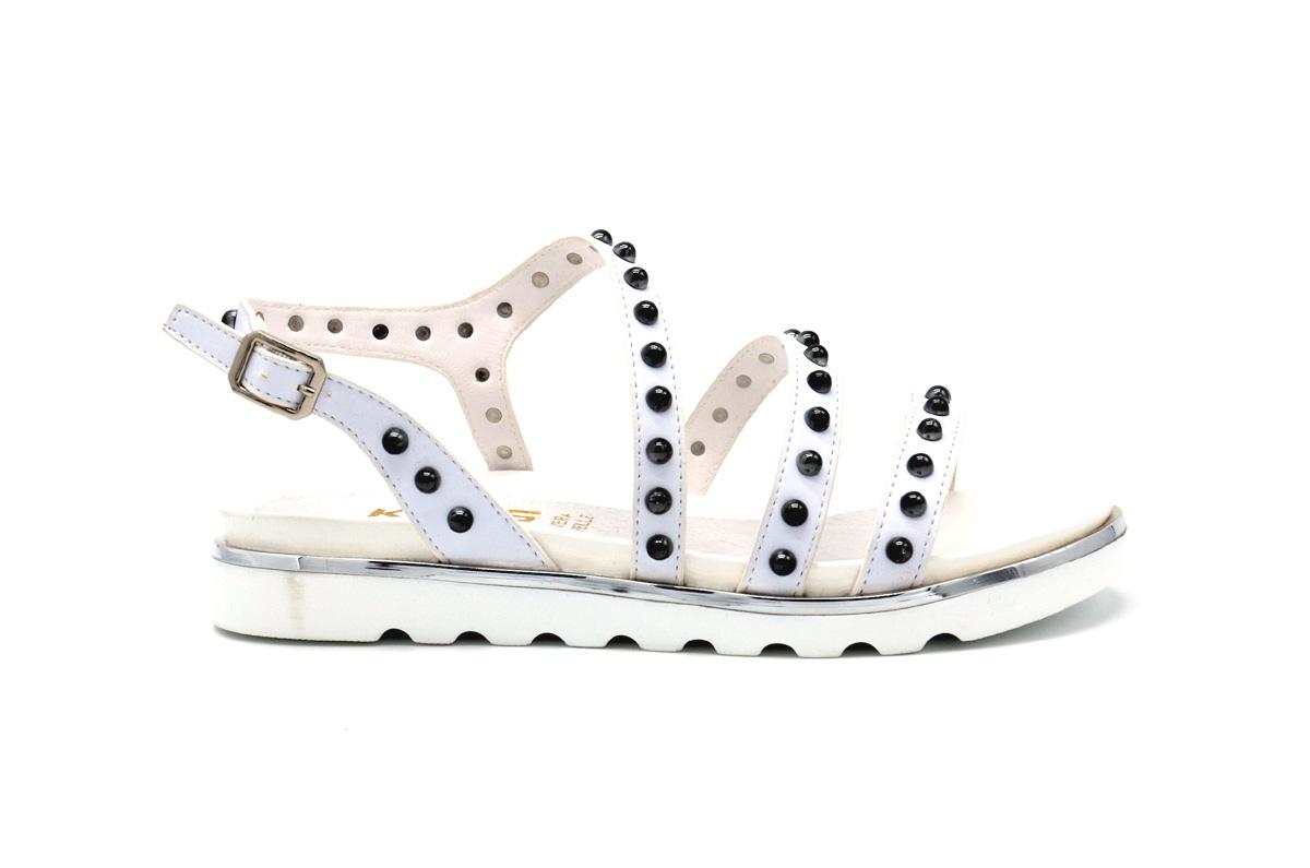 Sandalo con borchie
