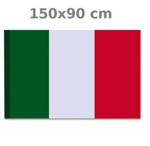 Bandiera italiana tricolore 90x150 con asola per asta NAZIONALE promo