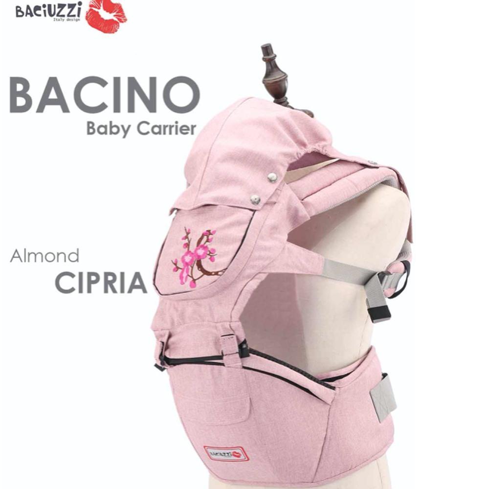 Marsupio per neonati  Bacino by  Baciuzzi - Cipria