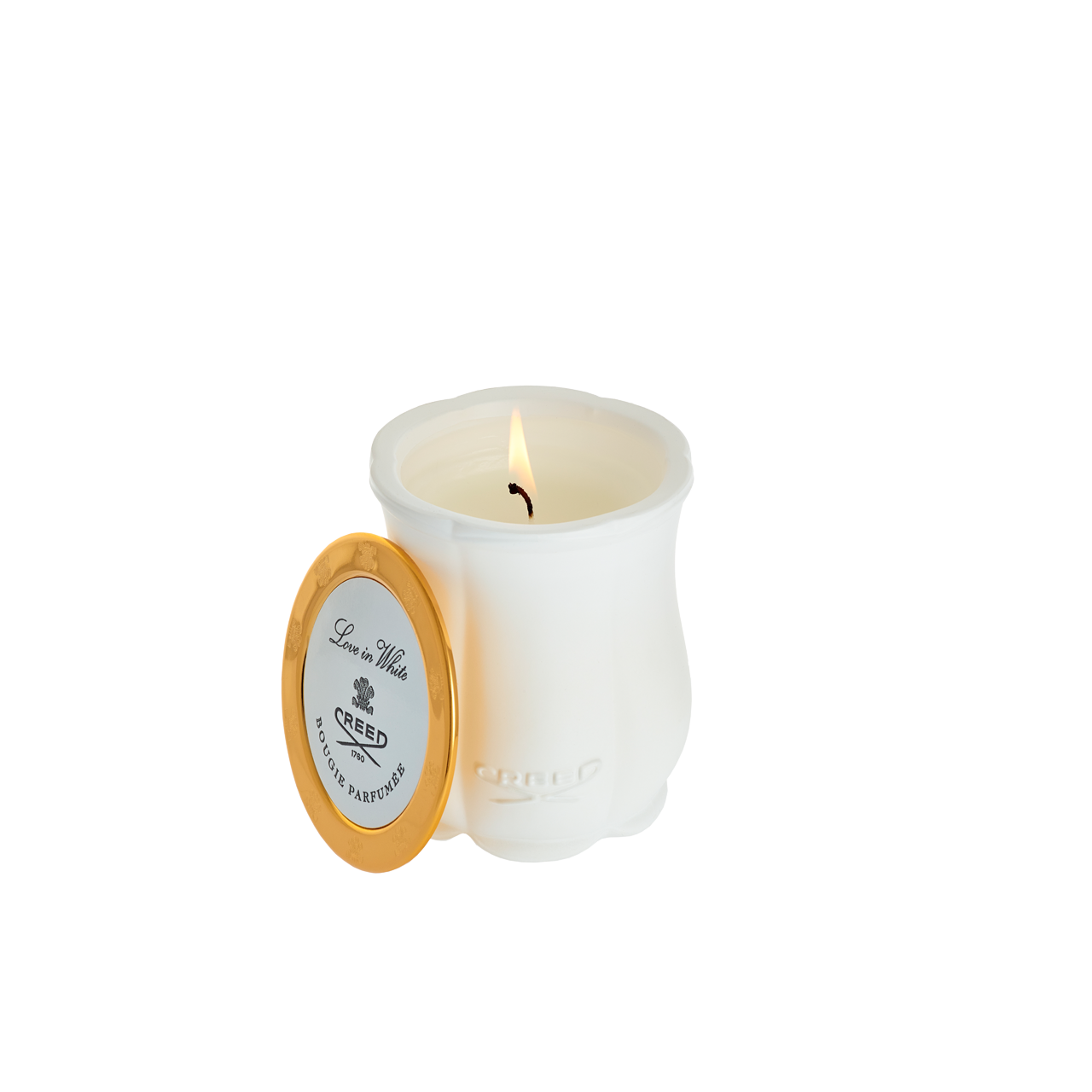 Love in White - Candle