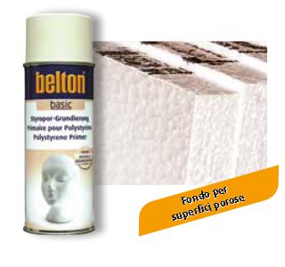 BELTON BASIC FONDO PER POLISTIROLO BEIGE SPRAY 400 ml