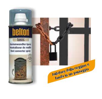 BELTON SPECIAL CONVERTITORE DI RUGGINE TRASPARENTE SPRAY 400 ml