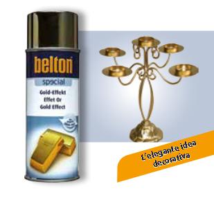 VERNICE BELTON BASIC EFFETTO ORO SPRAY 400 ml AREXONS