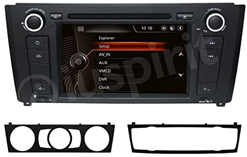 Autoradio navigatore per BMW serie 1 BMW E81 BMW E82 BMW E88 GPS DVD USB SD Bluetooth