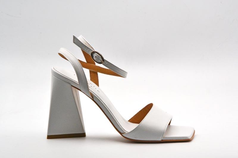 NOVITA' P/E 2021 Isabelle Paris Calzatura Donna-Nappa Bianco IS282